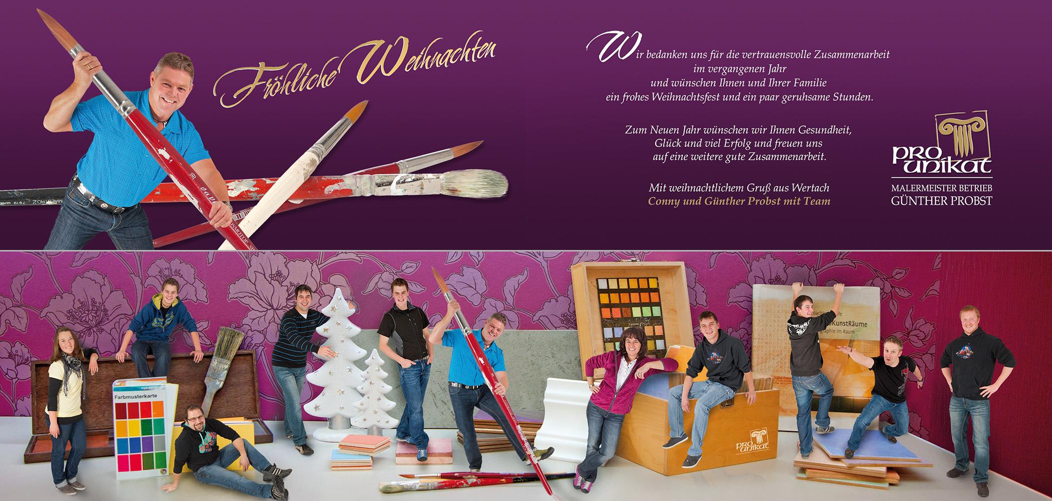 Weihnachtskarten 2011