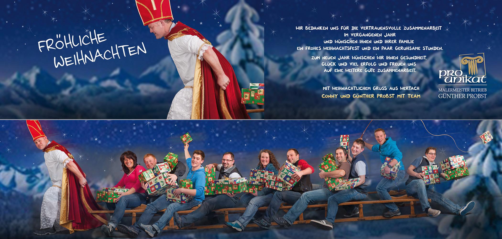 Weihnachtskarten 2013